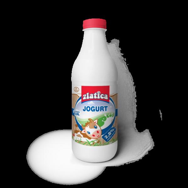 Zlatica jogurt flasa 05 l