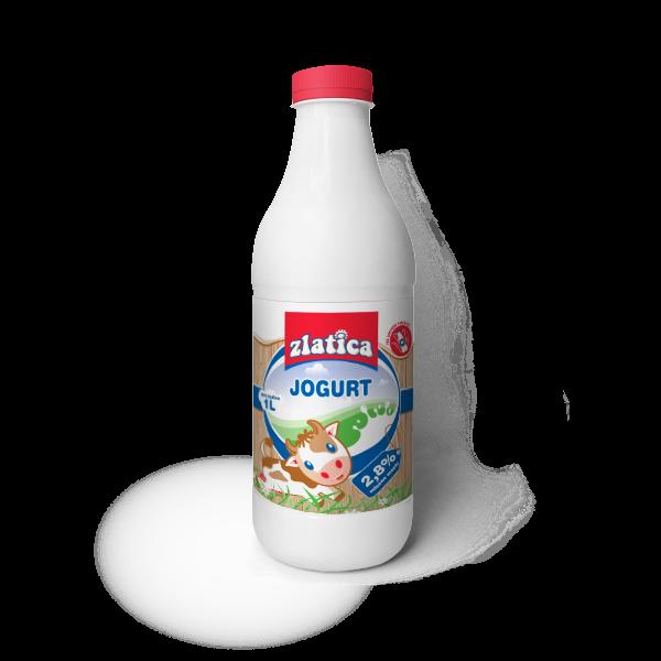 Zlatica jogurt flasa 1 l