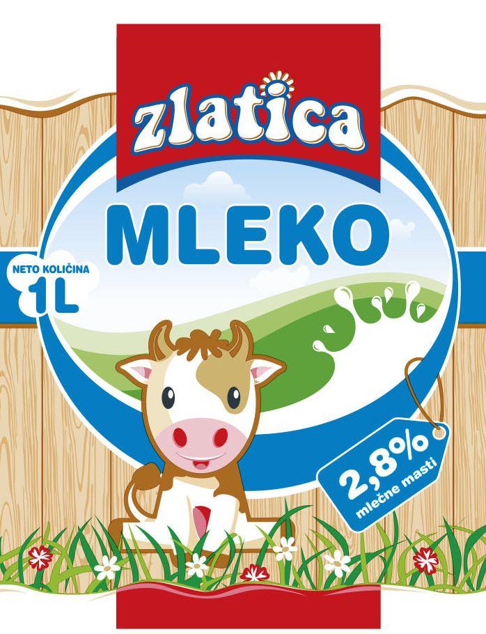 mleko zlatica