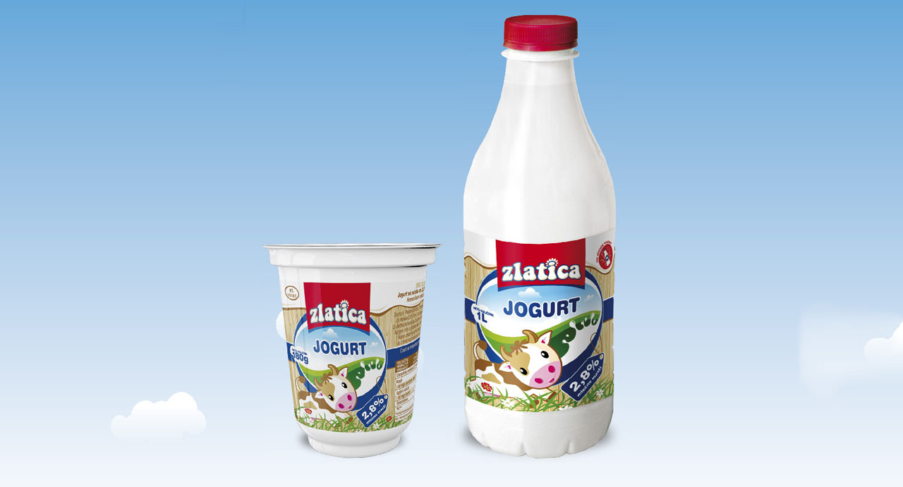 Zlatica jogurt